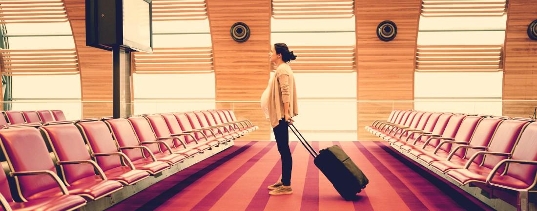 Cestování různými dopravními prostředky v těhotenství