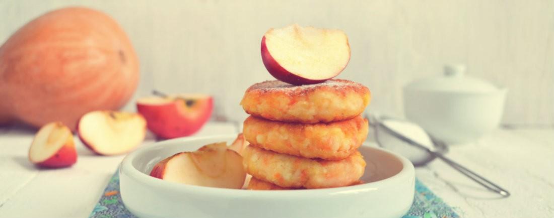Dýňovo-jablečné placičky