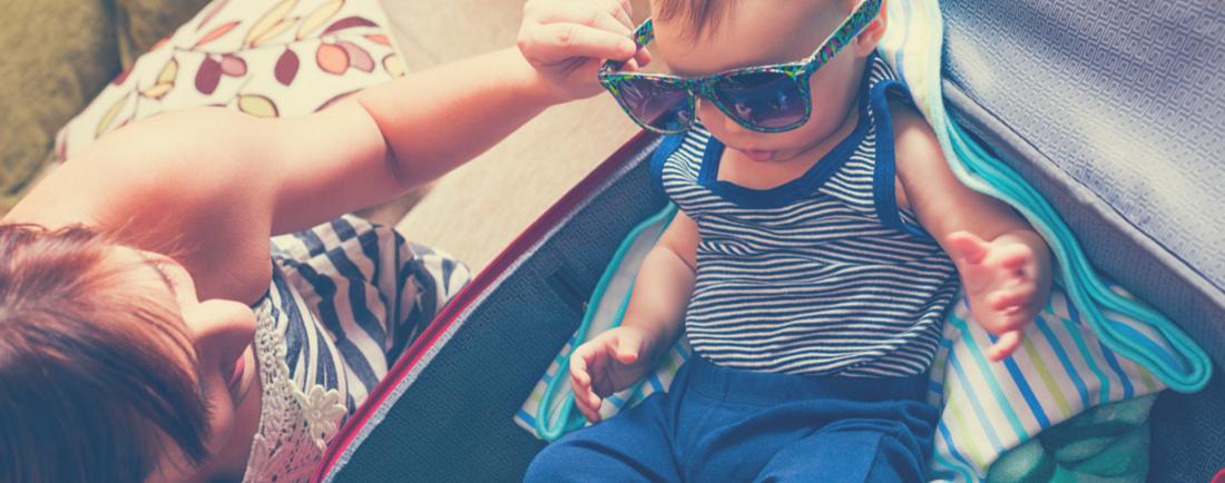 Cestování s malými dětmi: co s sebou
