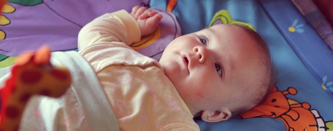 Hry a cvičení pro miminka 0. - 3. měsíc