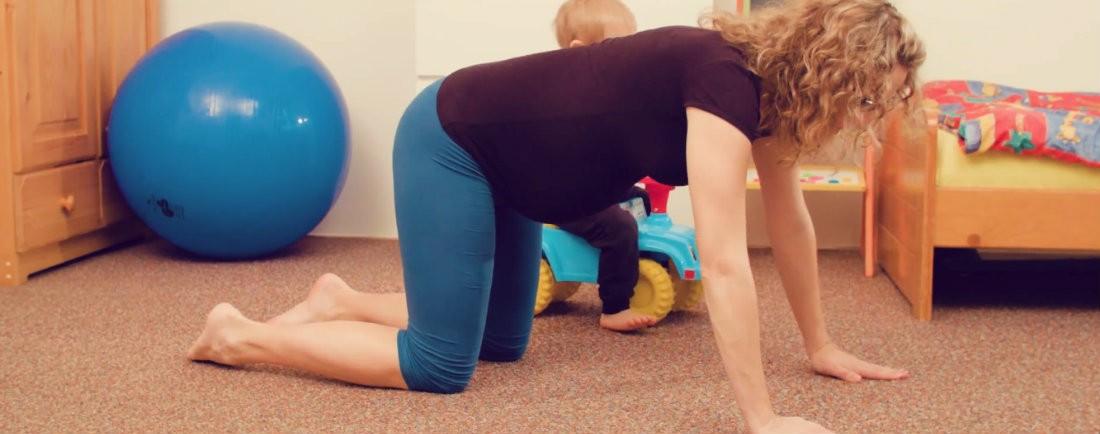 Cvičení na doma pro těhotné
