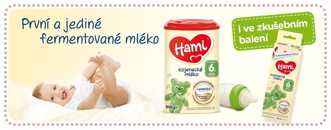 Co maminky říkají na nové Hami mlíčko?