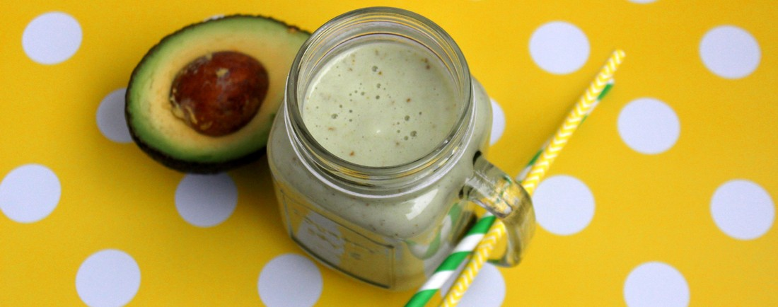 Hruškové smoothie s avokádem a rýží
