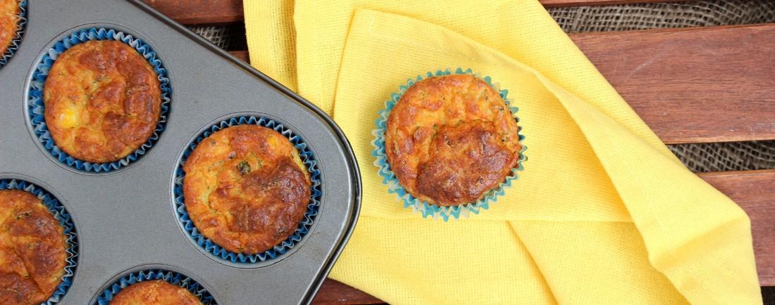 Jarní zeleninové muffiny