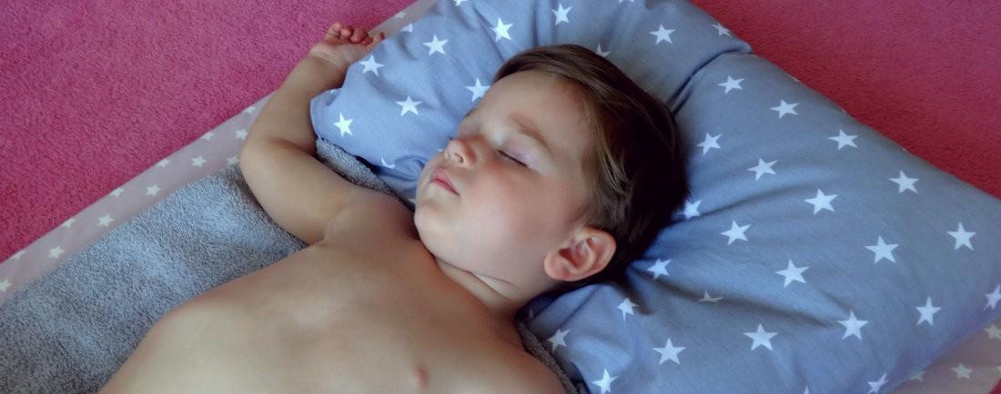 Jak na masáž děťátka
