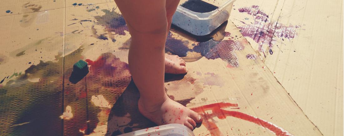 Malujeme celým tělem