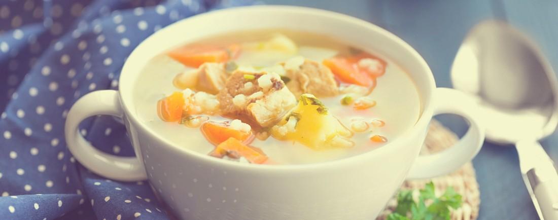 Masová polévka se zeleninou