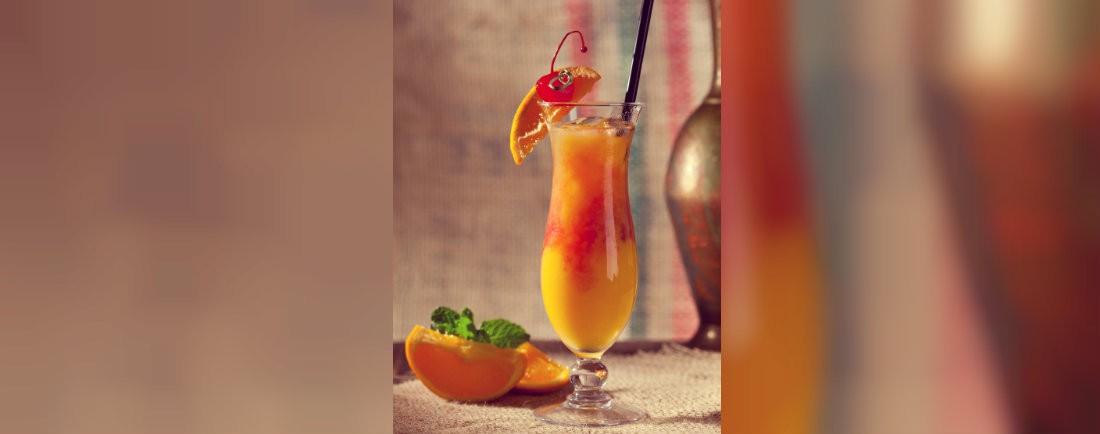 Citrusový ombré drink