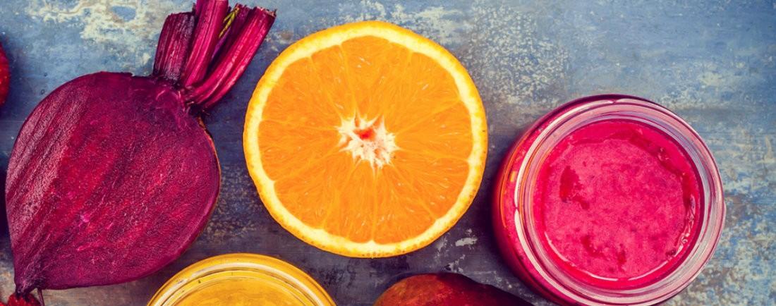 Řepovo-pomerančové smoothie