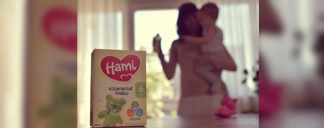 Hami mlíčko 6m+