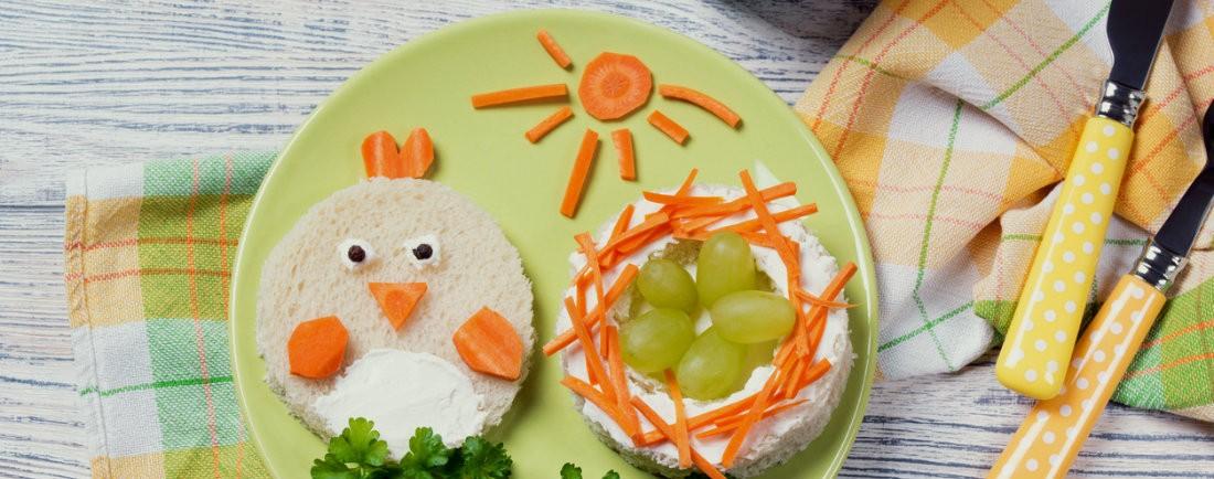 Ukázkový jídelníček od uk. 12. měsíce