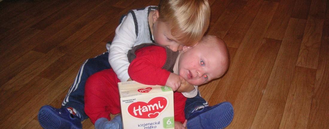 Mlíčko Hami jako magnet