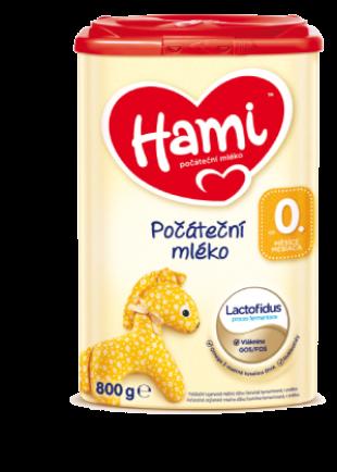 Hami počáteční mléko od narození
