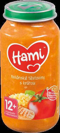 Hami příkrm Milánské těstoviny s krůtou od uk. 12. měsíce