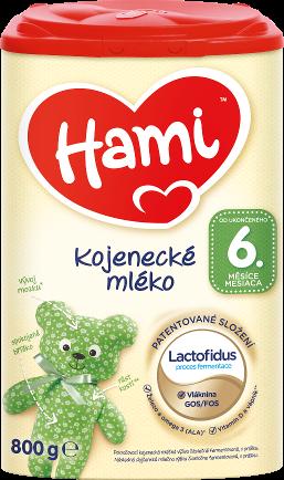 Hami kojenecké mléko od uk. 6. měsíce