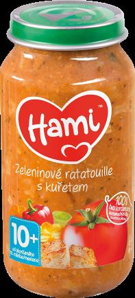 Hami příkrm Zeleninové ratatouille s kuřetem od uk. 10. měsíce