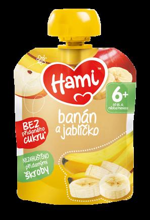Hami kapsička banán a jablíčko