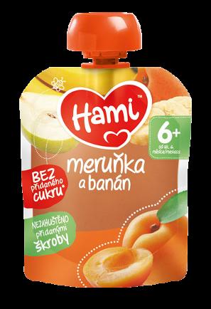 Hami kapsička Meruňka a banán
