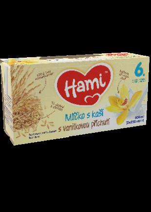 Hami mlíčko s kaší s příchutí vanilky od uk. 6. měsíce